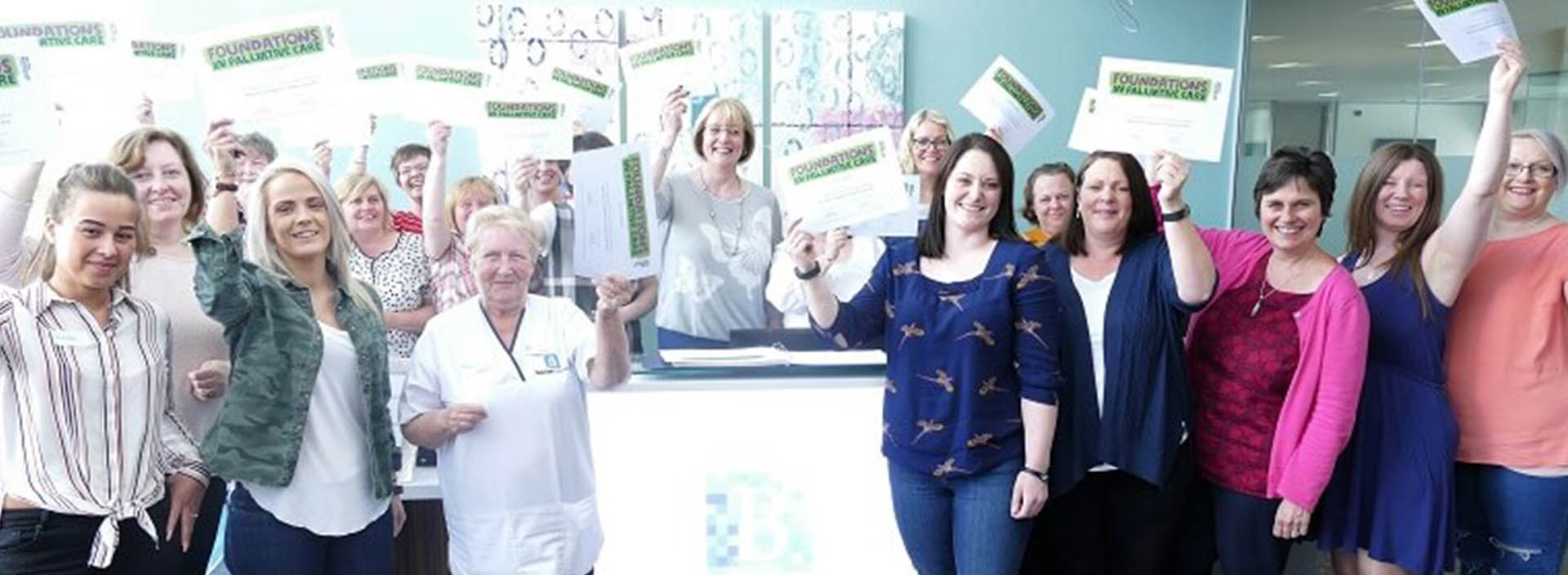 Balhousie Care Group teams up with Macmillan Cancer Support to deliver valuable training in Palliative Care