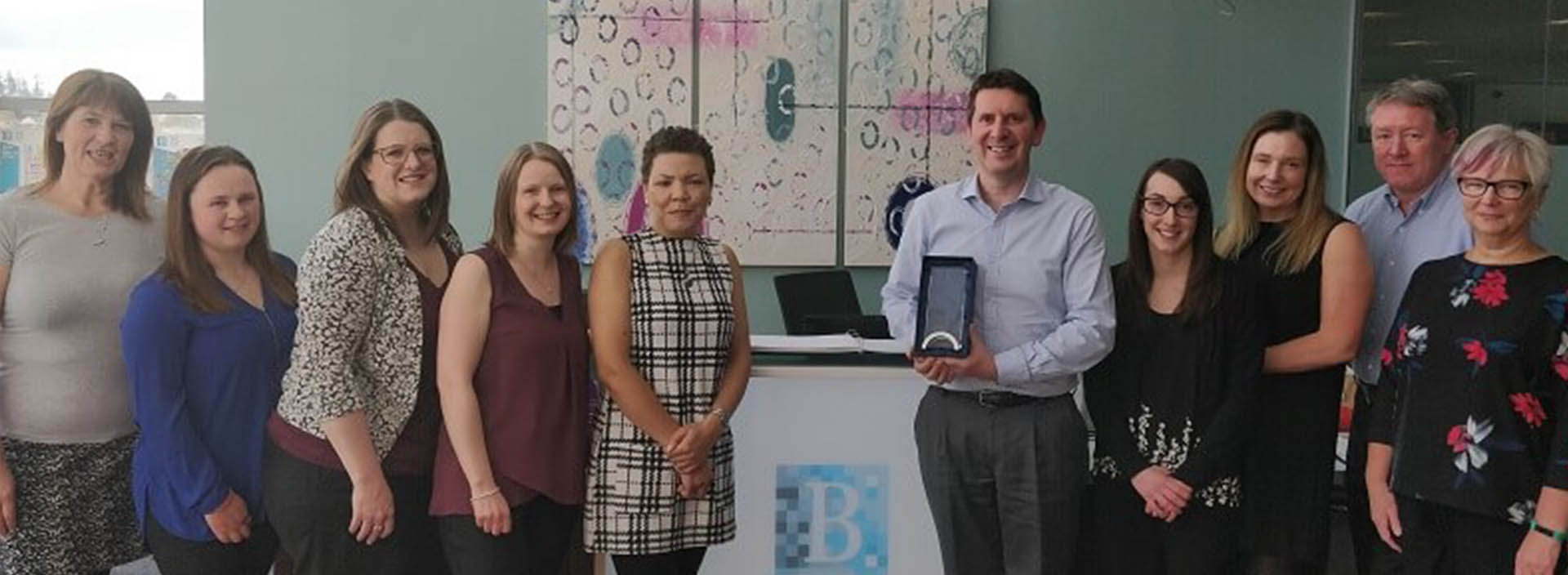 Balhousie Care Group finance director scoops national award