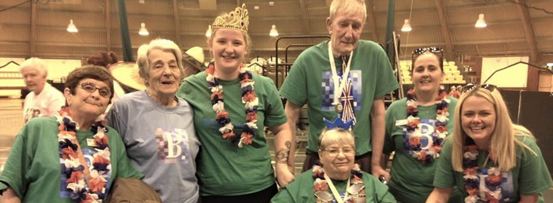 Stormont Lodge care home residents take home medals in Perthshire challenge
