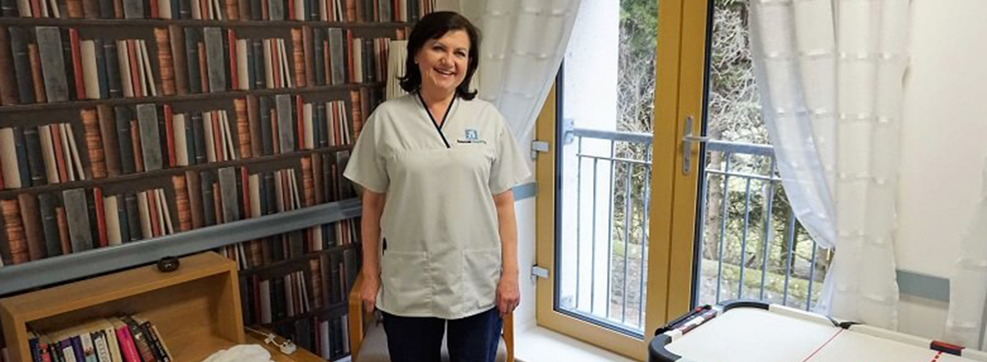 Nurse at Balhousie Care Group uses A&E experience to make difference to elderly residents