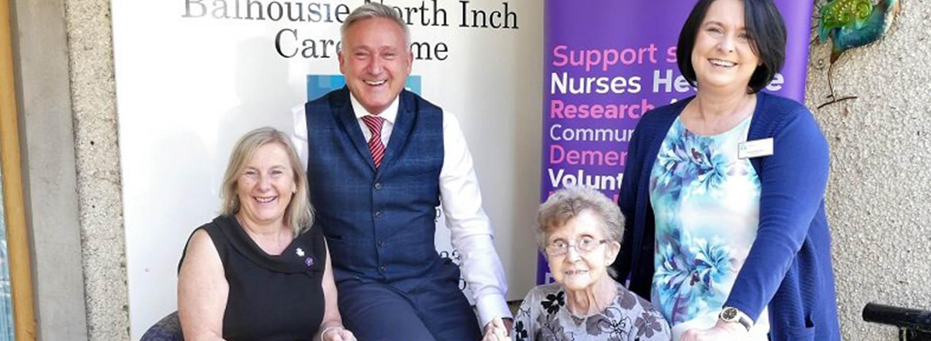 Balhousie Care Group raises over £34,800 for Alzheimer Scotland