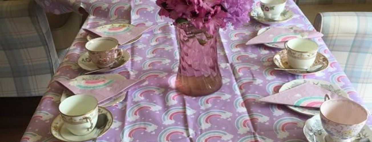 Purple Tea Party at Lisden rounds off Dementia Awareness Week