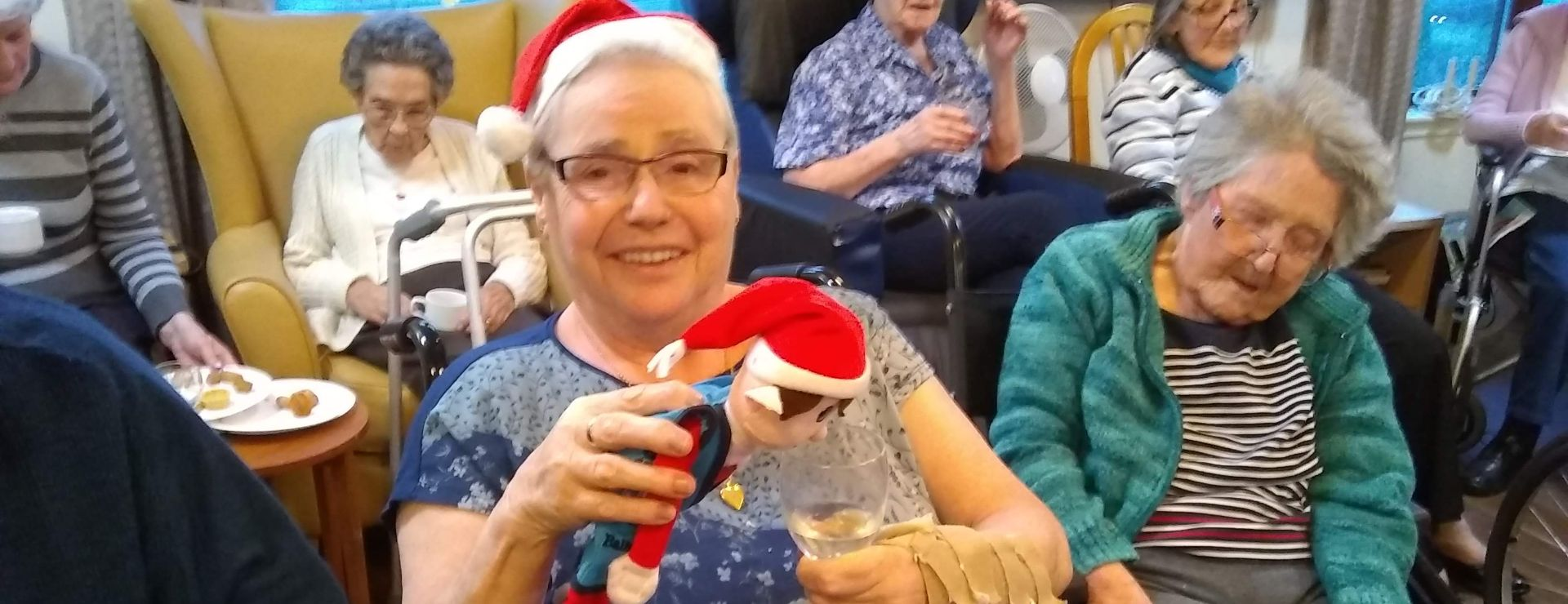 £900 raised for our residents comfort fund