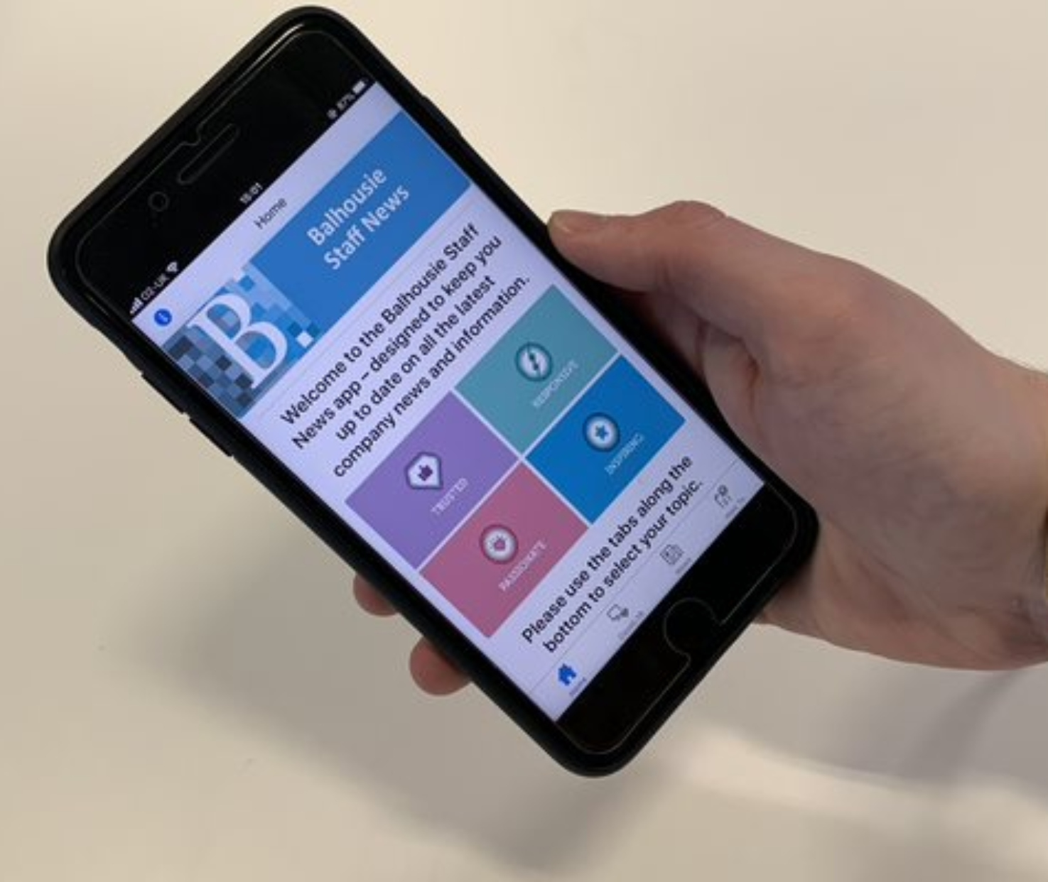 Balhousie Care Group develops staff app in record time as it ramps up communication in wake of Coronavirus