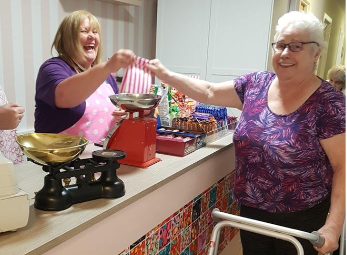 Arbroath care home opens 'Old Fashioned' sweetie shop to take residents on nostalgic journey