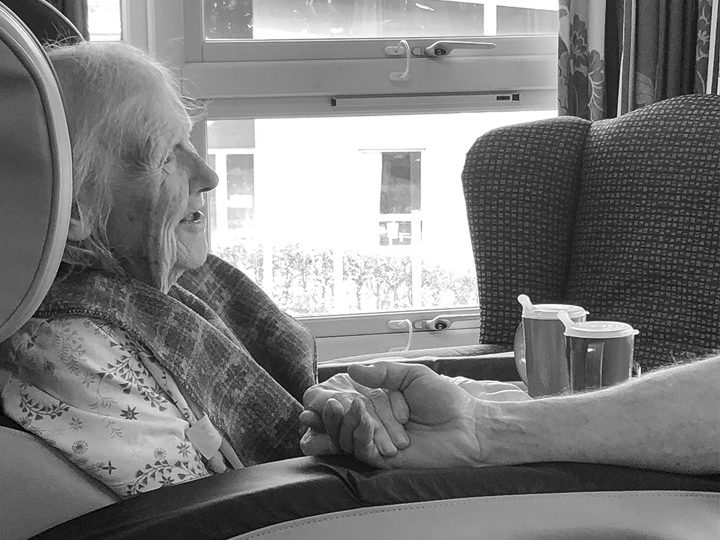 Balhousie Pitlochry residents captured in beautiful series of black and white photographs