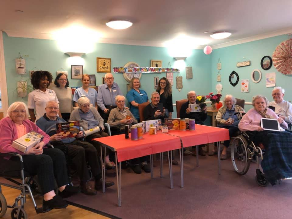 """Balhousie Pitlochry """"hugely touched"""" by community donations"""