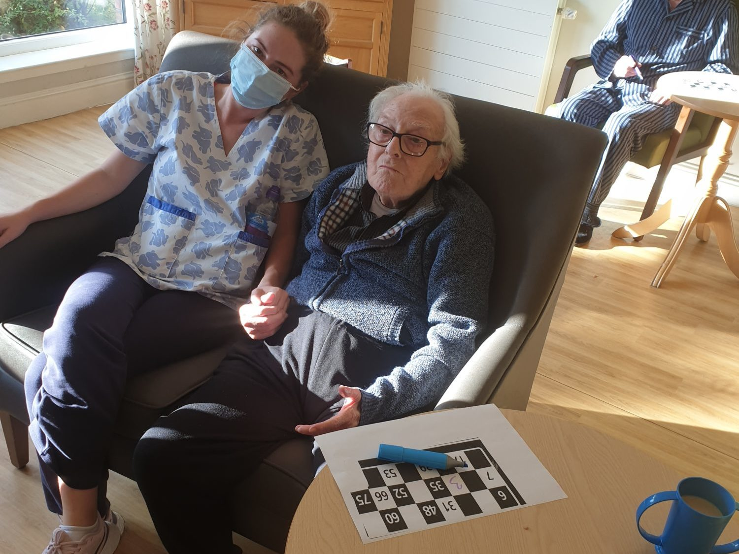 Residents enjoy some baking and bingo at Forth View