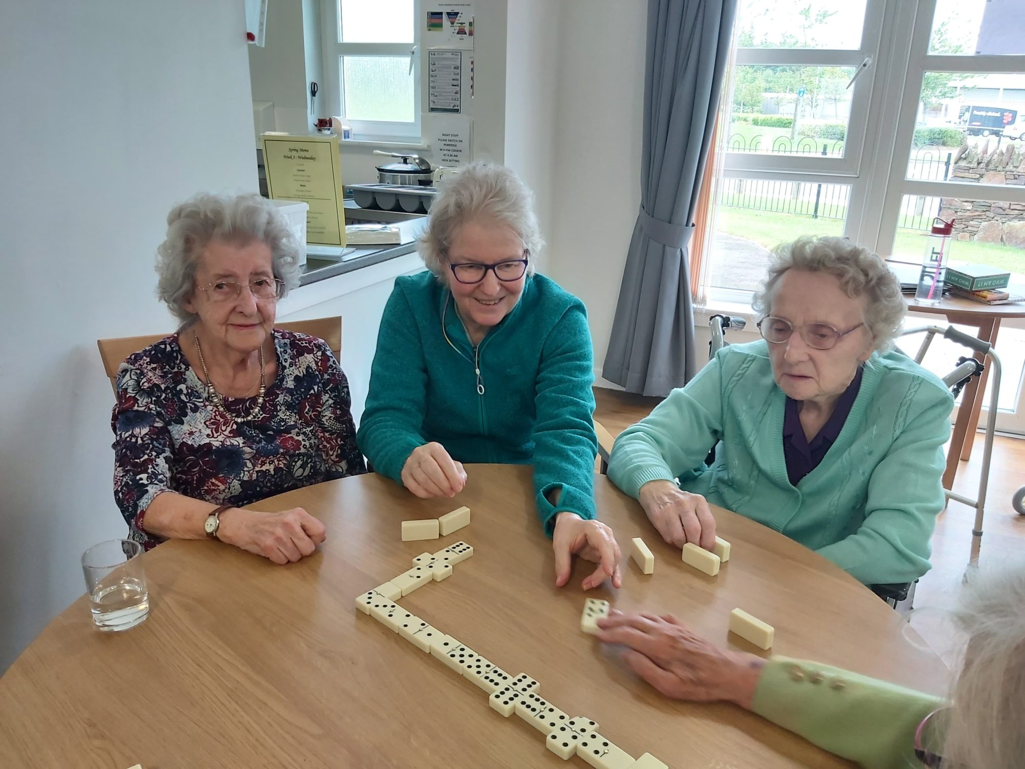 Huntly residents keep busy with host of activities