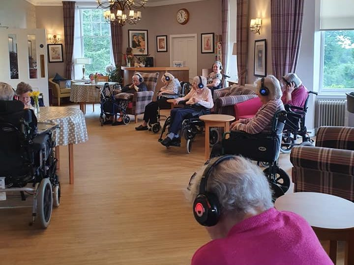 Alastrean residents enjoy some more silent disco fun