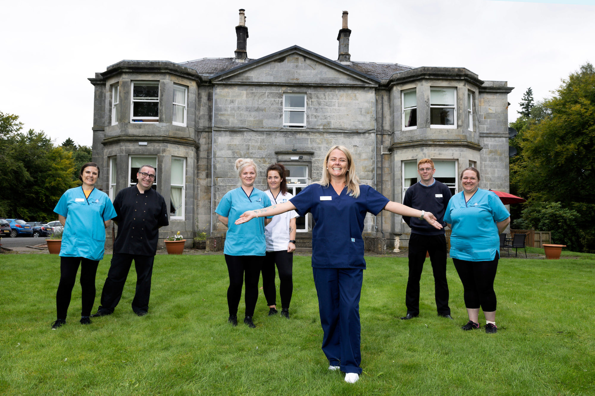 Perthshire care home keeps it all 'in the family' as it employs 15 related staff members