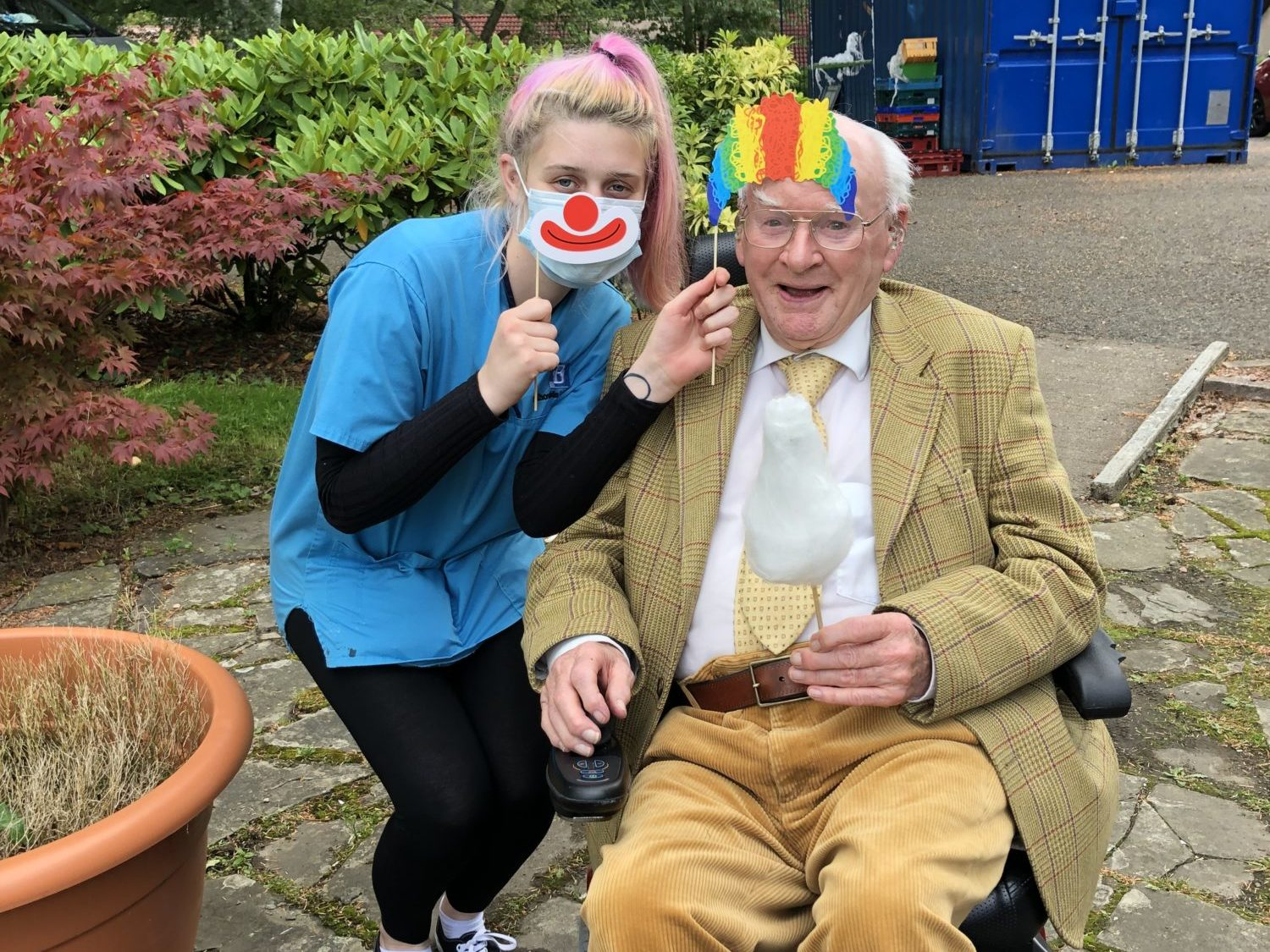 Luncarty welcome the circus for an afternoon of fun