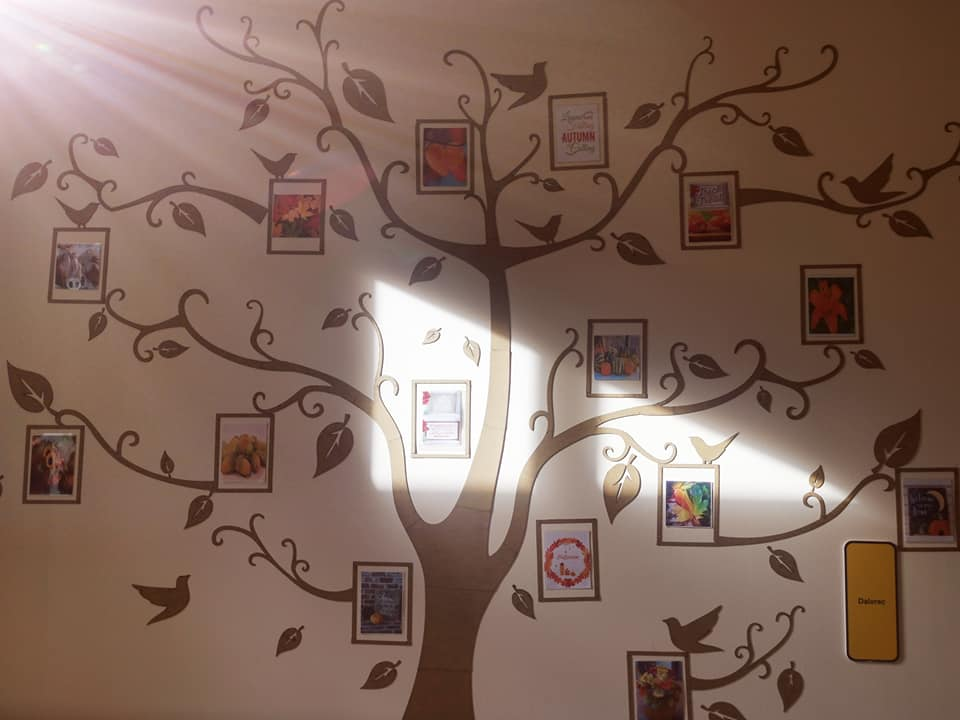 Dalnaglar create beautiful 'Tree of the Seasons'
