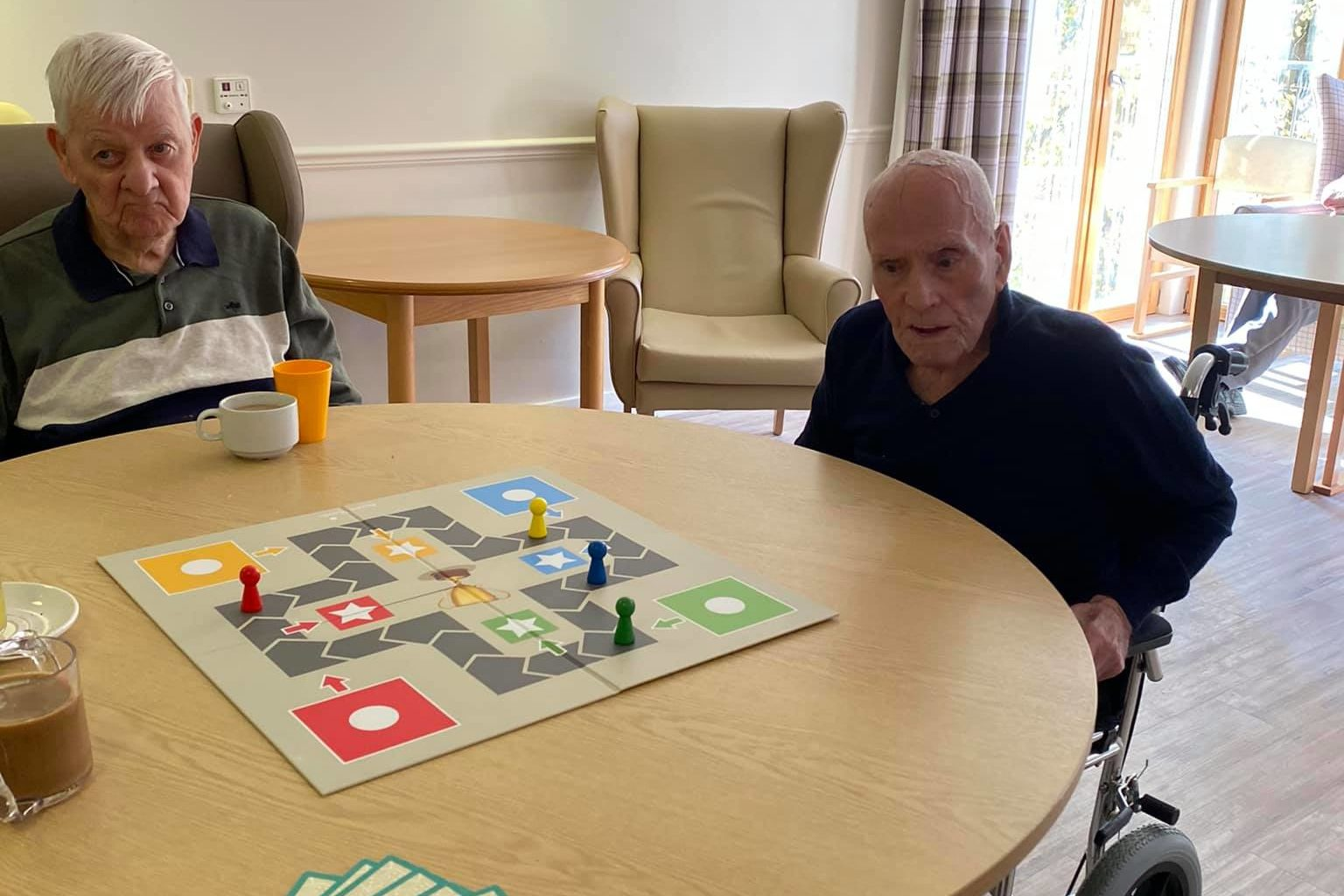 Ludo proves a hit with residents at Clement Park
