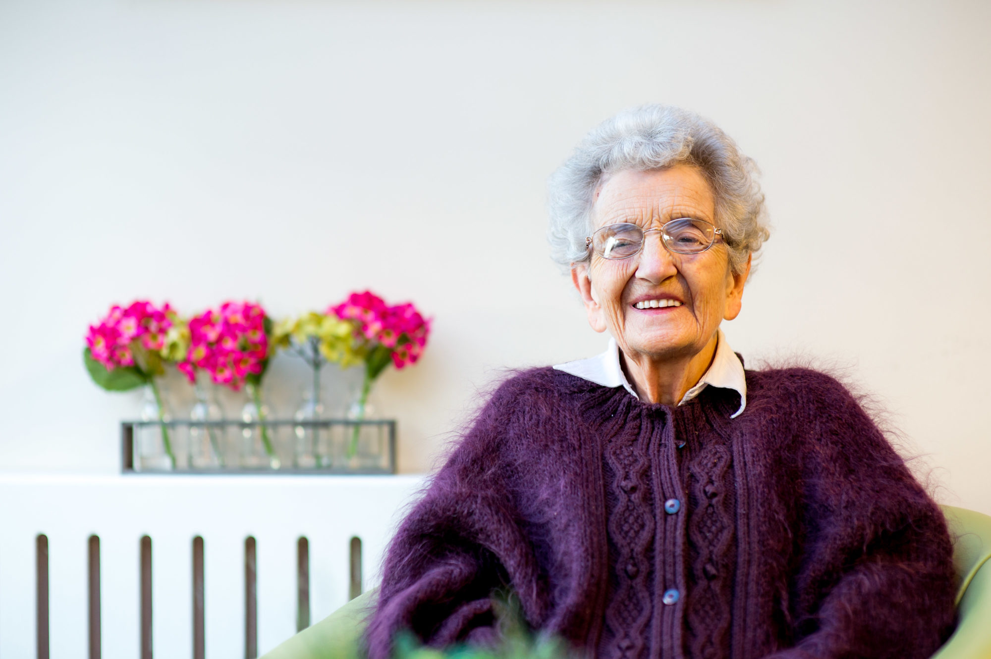 At 91, Mollie is the face behind Balhousie Care Group's new marketing campaign