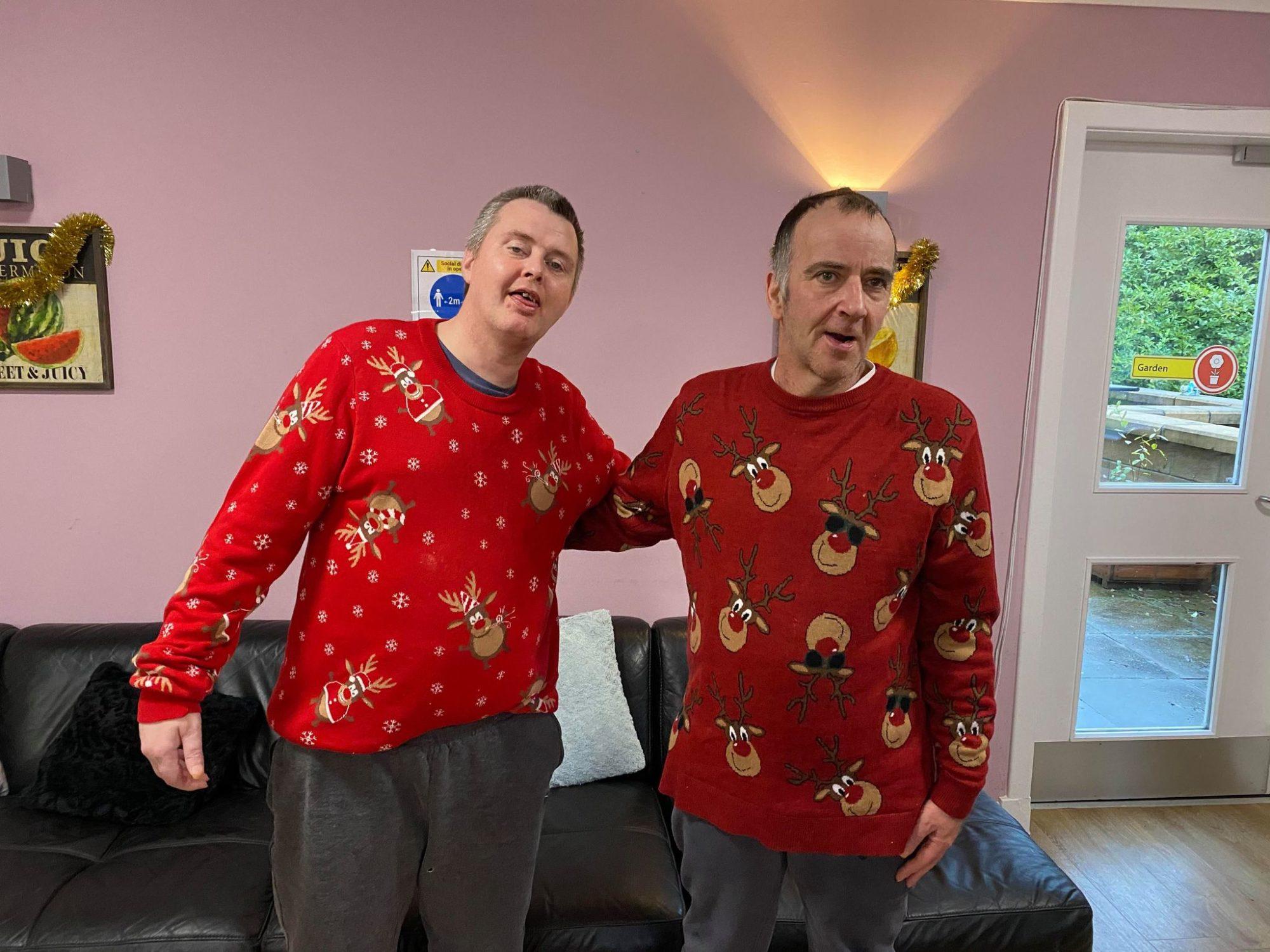 Residents feeling festive at Rumbling Bridge