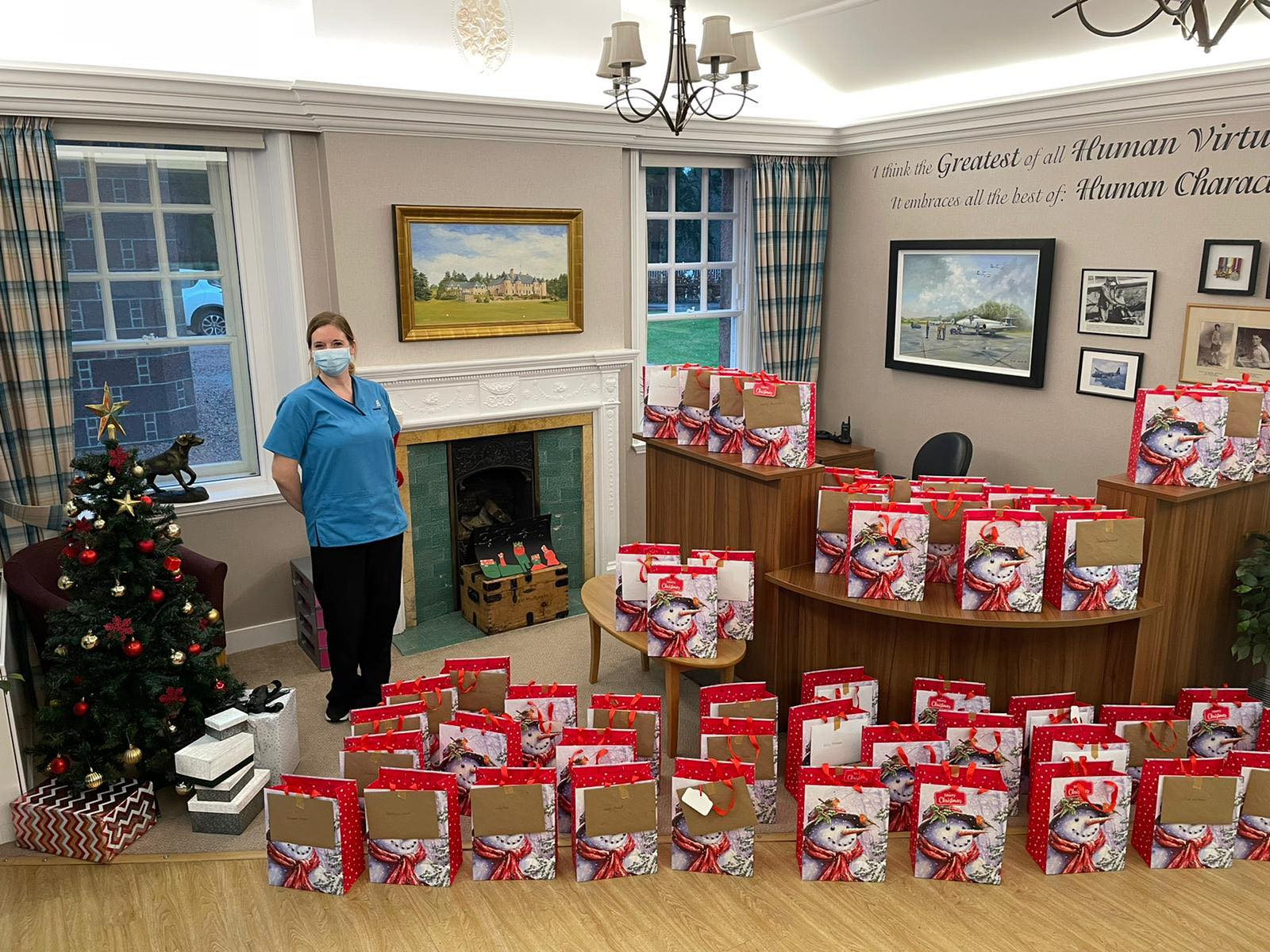 Alastrean residents are delighted with kind Christmas gifts from local community