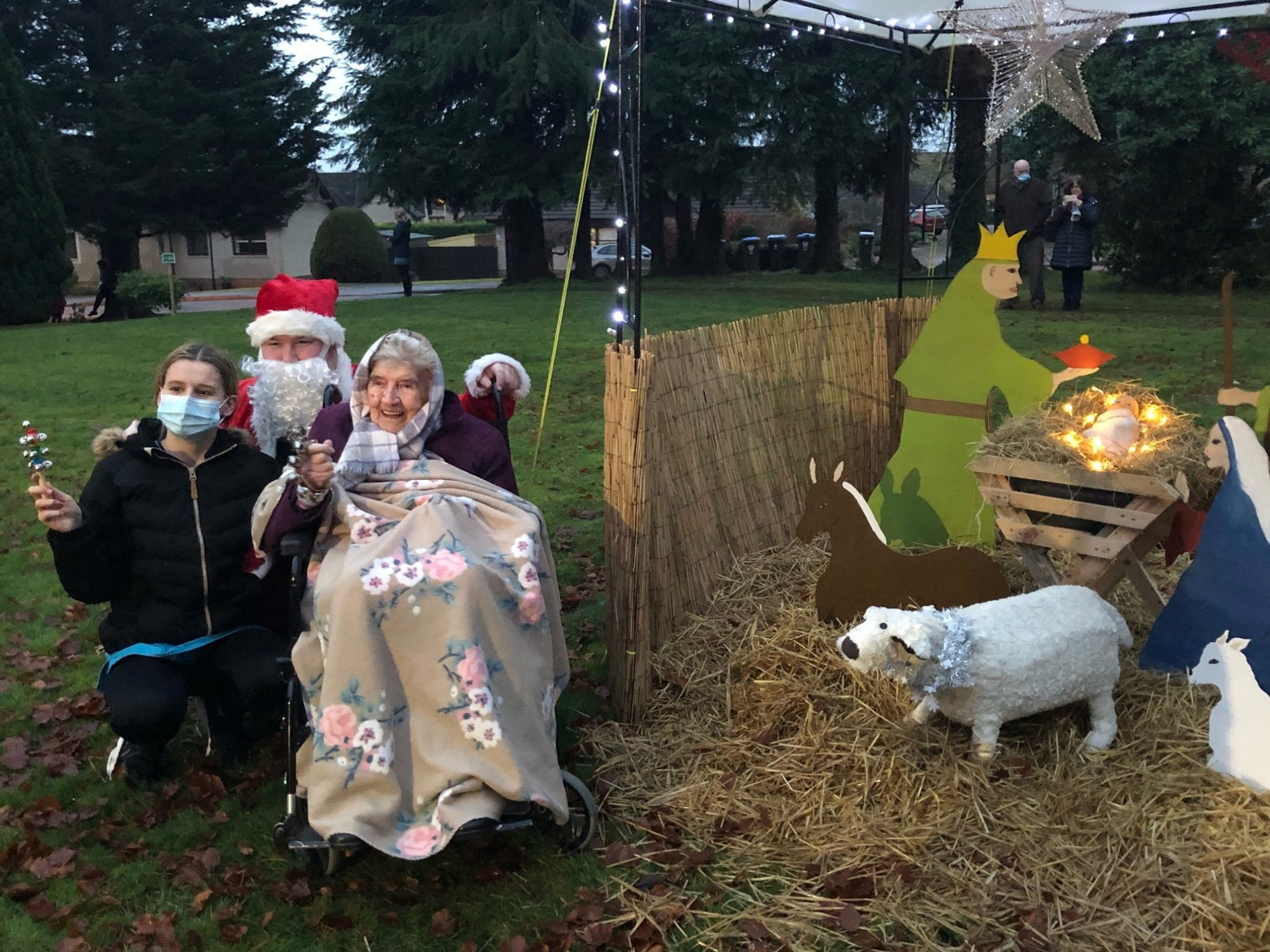 Balhousie Luncarty transforms its grounds into Winter Wonderland