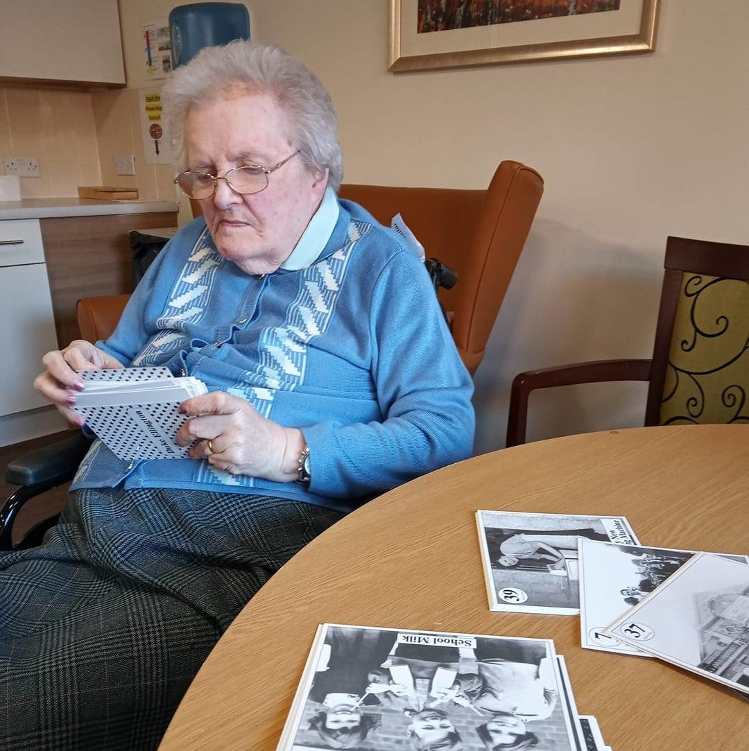 North Inch residents take a trip down memory lane with reminiscence cards