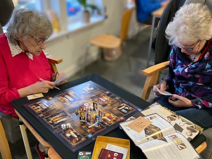 Huntly residents participate in a games day