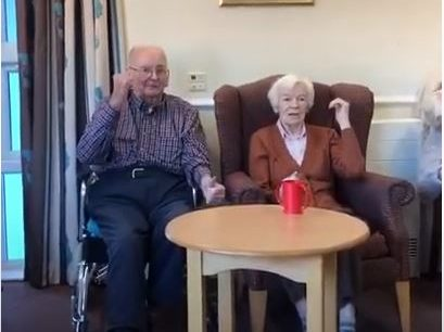 Pitlochry couple motivate each other during exercise class
