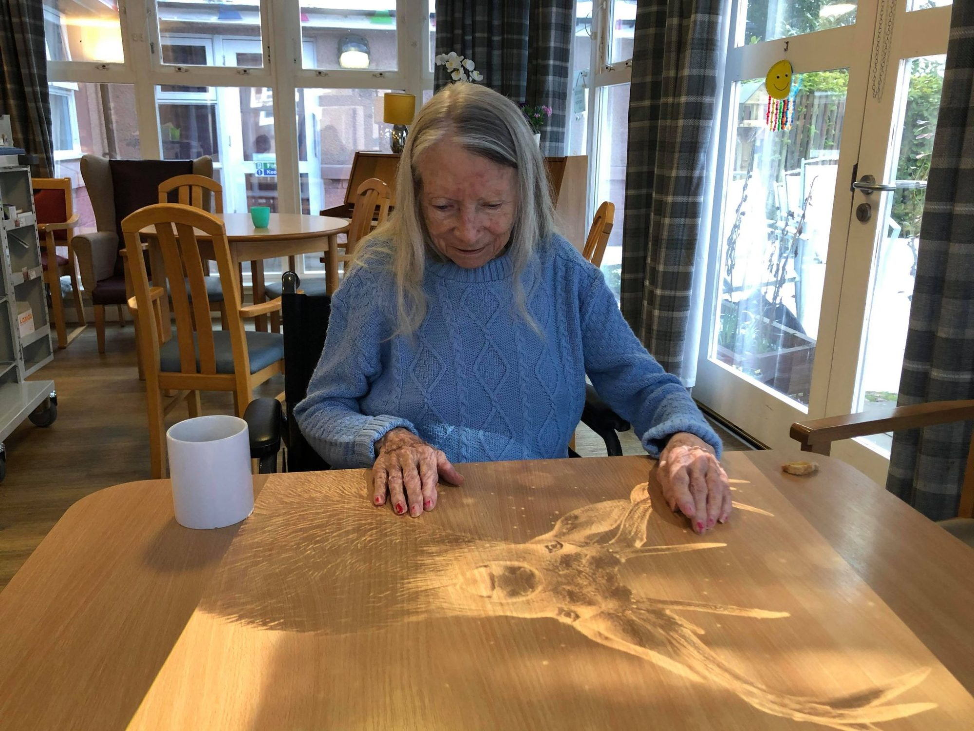 Angus care home welcomes 'magic table' to help those living with dementia
