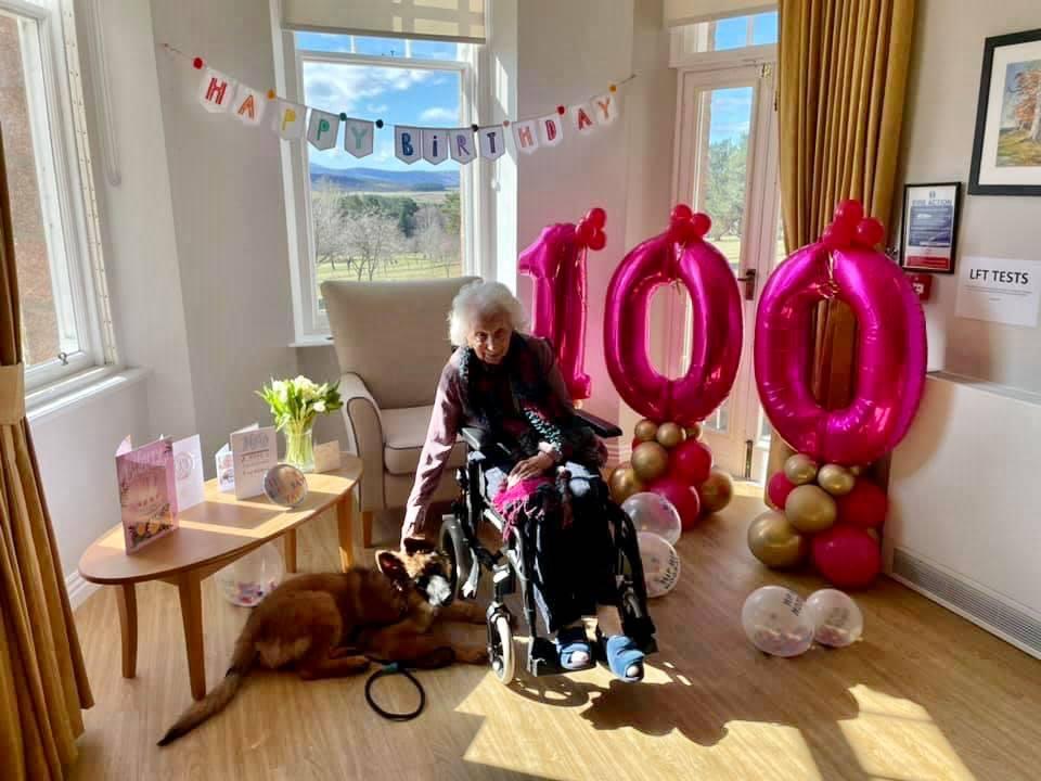 Alastrean resident, Isobel, celebrates 100th birthday today