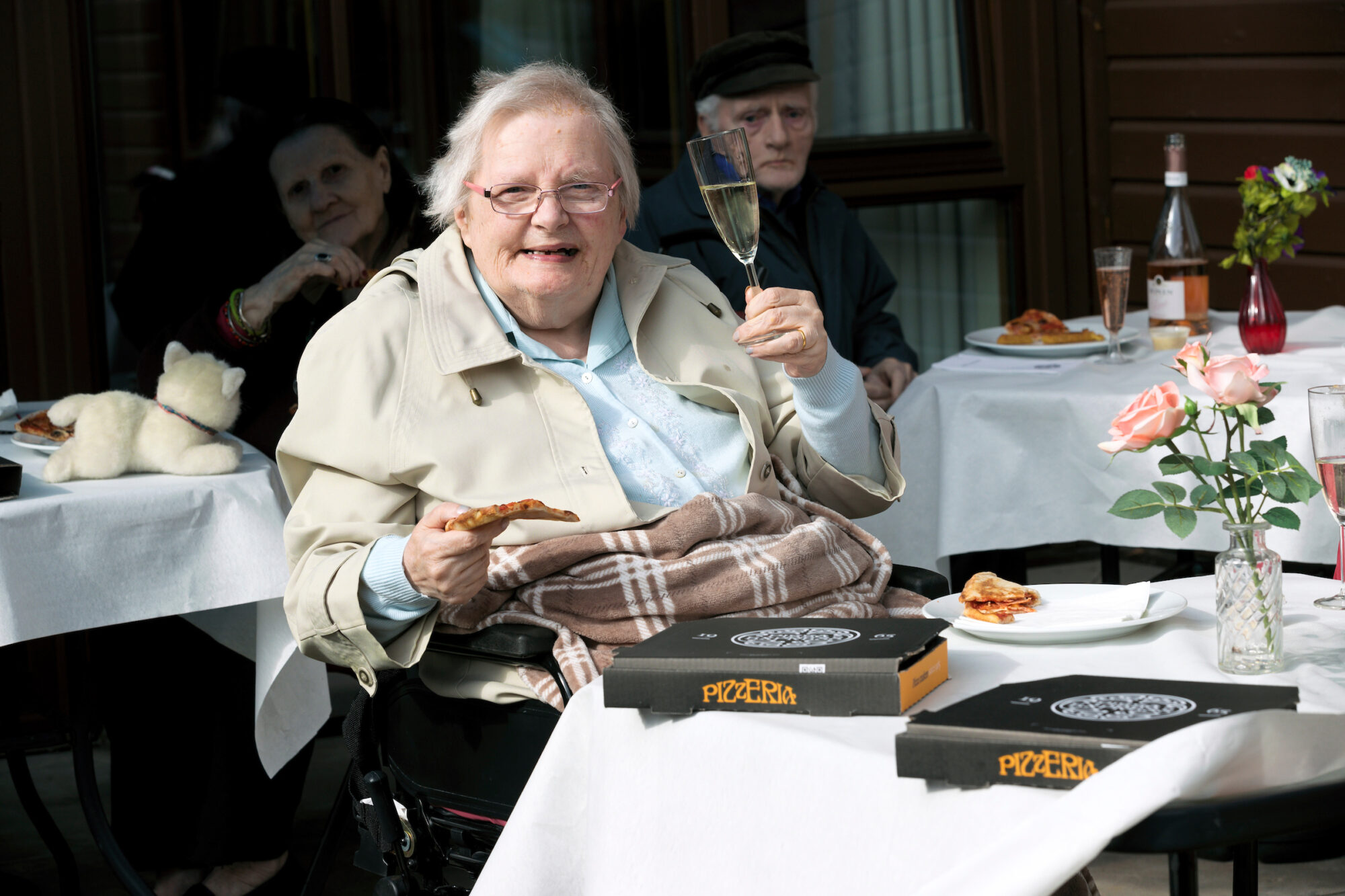 It's smiles all round at Perth care home as lockdown eases and hospitality opens up