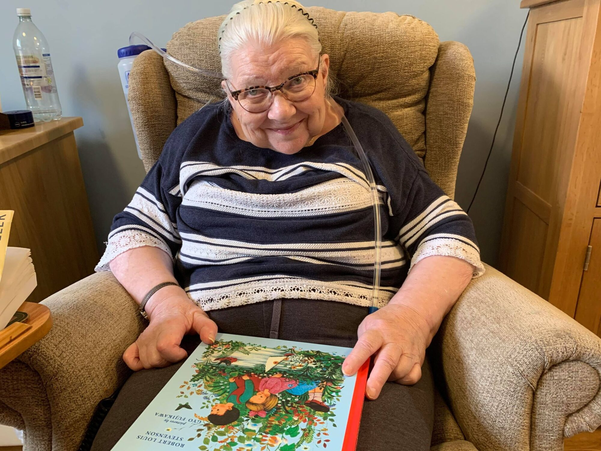 An Arbroath care home resident shares her favourite stories for International Children's Book Day