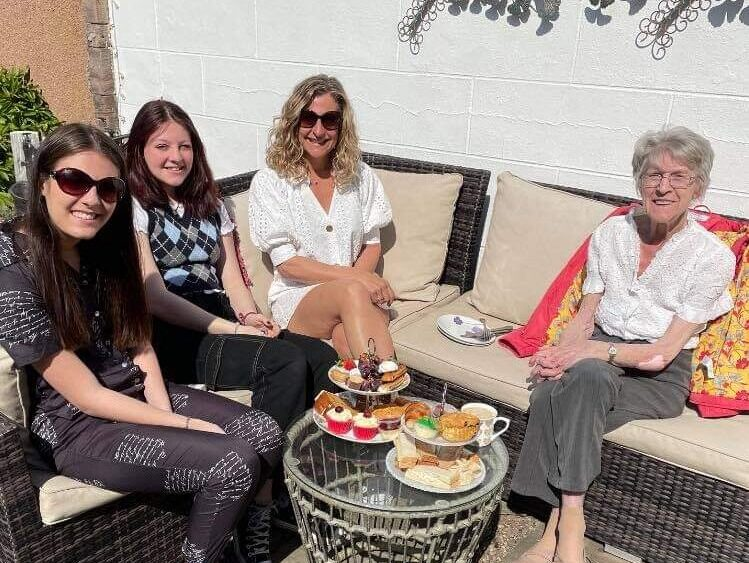 Ice cream, afternoon tea and car trips on the menu as Balhousie Care residents enjoy the outdoors