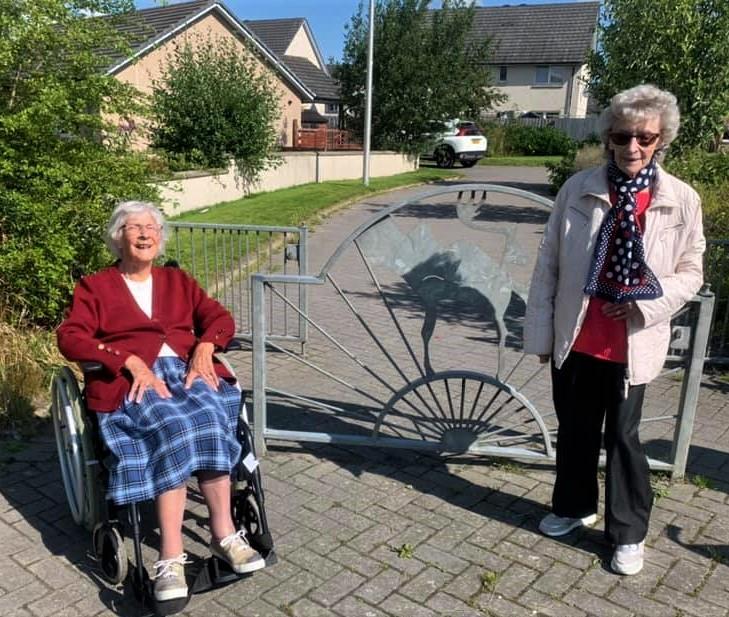 Balhousie Huntly - Agnes and Mary