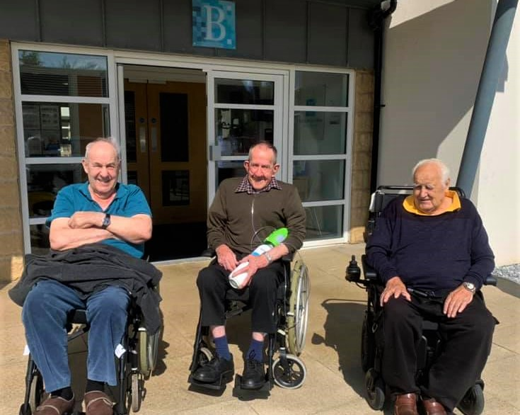 Balhousie Huntly - Bill, Jimmy and Alan