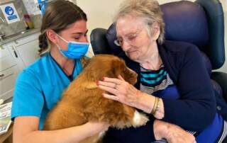 Puppy Power at Balhousie Care Group